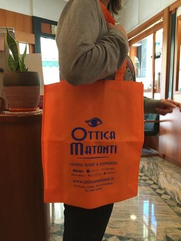 shopper arancio